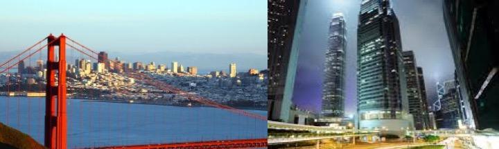 香港與矽谷連線