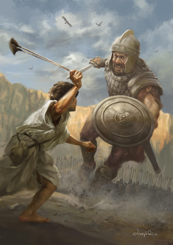 大衛戰勝歌利亞